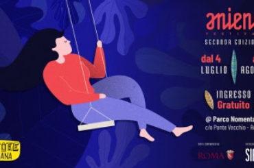 Seconda edizione di Aniene Festival dal 4 luglio al 5 agosto 2018 al Parco Nomentano