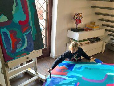 """La """"modern painting"""" di Silvia Fiorenza"""