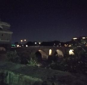 Ponte Milvio e il carro indiavolato della Pimpaccia