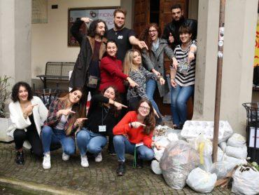 #Famolocorcoris: guerrilla gardening al Dipartimento di comunicazione della Sapienza