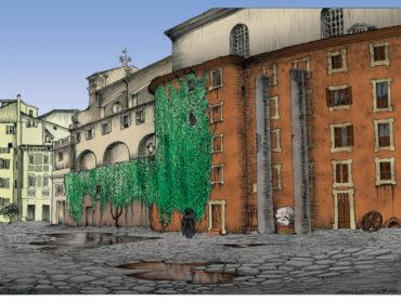 Fantasmi a Roma: la piazzetta alchemica di Sant'Eustachio