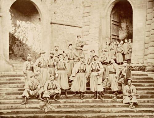 Dopo oltre 150 anni tornano gli zuavi a Mentana